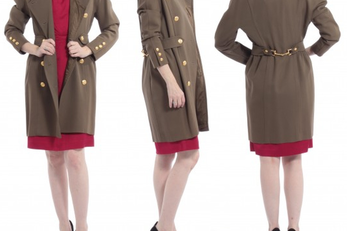 "Will you find a steal like this Celine coat at the ModaVive sale? Image via Facebook/<a href=""https://www.facebook.com/ModaVive?hc_location=timeline"">ModaVive</a>"