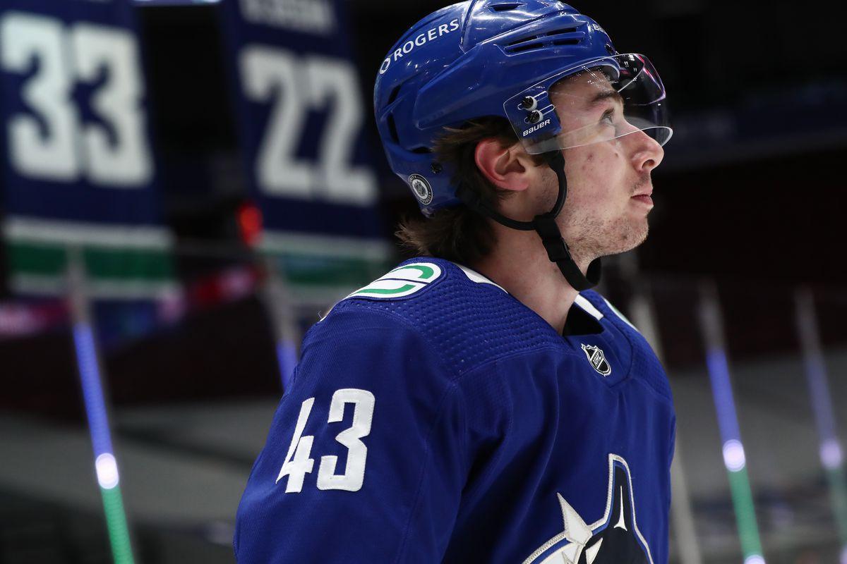 NHL: MAR 24 Jets at Canucks