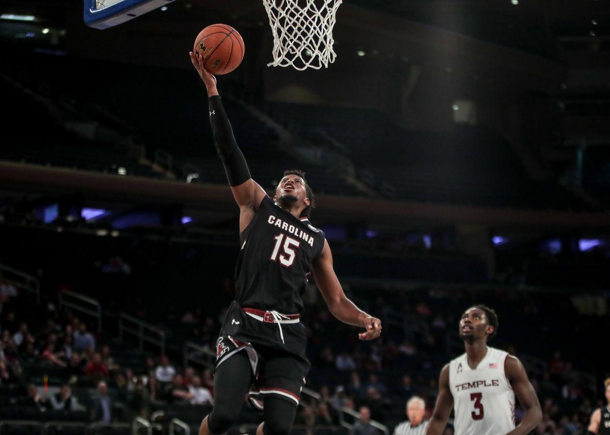 NCAA Basketball: Under Armour Reunion-South Carolina vs Temple