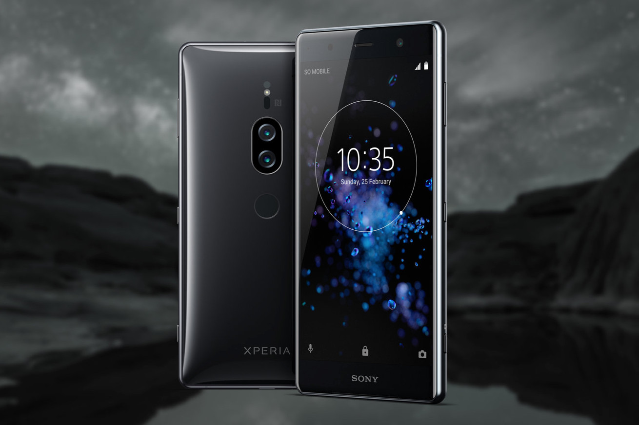sony s xperia xz2 premium has a 4k display and cameras built for extreme low light shooting