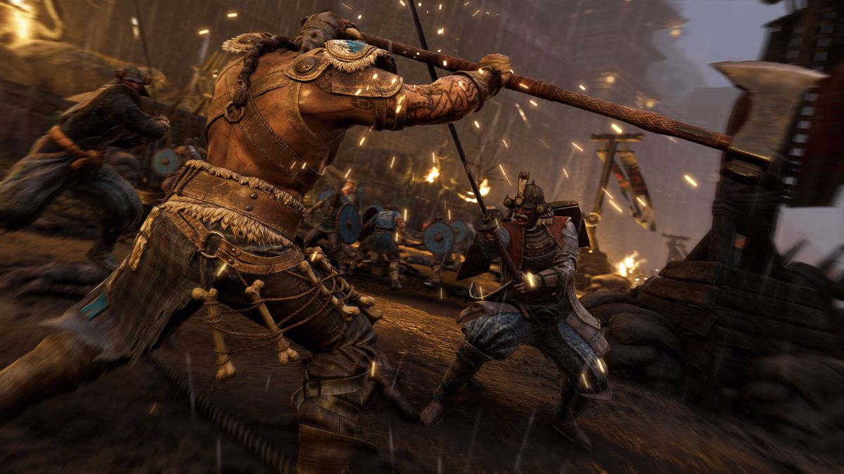 A screenshots of For Honor