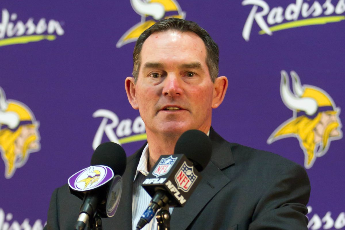 Don't Ask Mike Zimmer Silly Questions About Jersey Sales