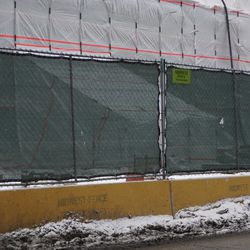 Possible club entrance, on Addison Street