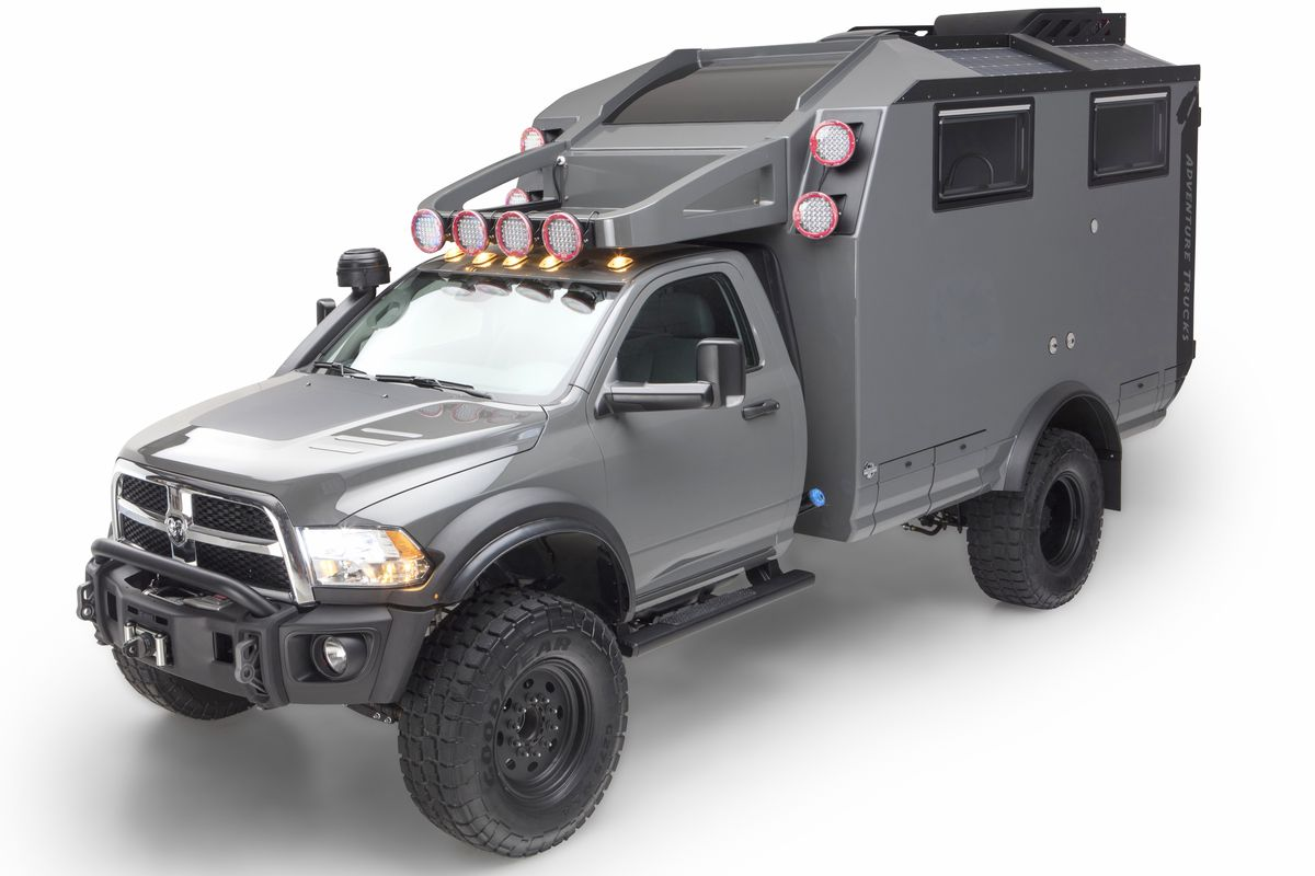 Overlanding Camper This Tough Truck Is Ready For Adventure Curbed