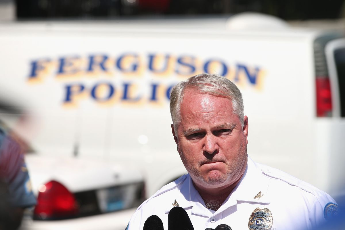 Ferguson Police Chief Tom Jackson is resigning.