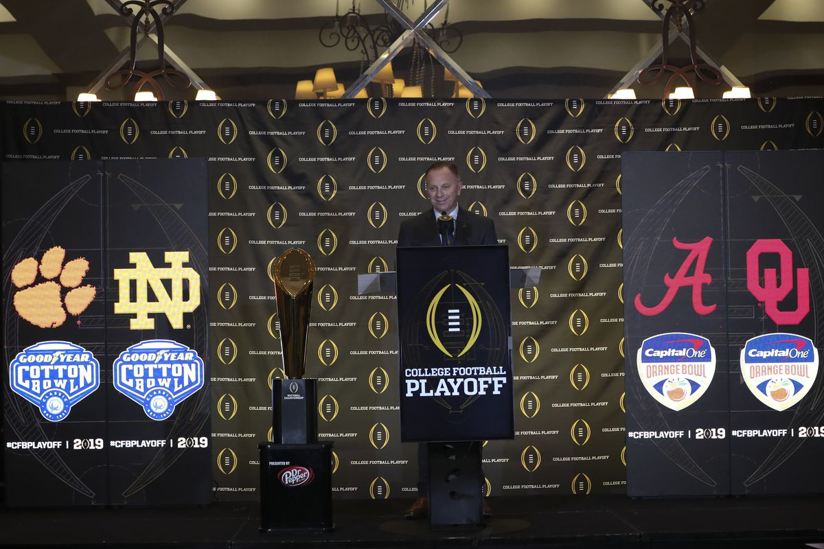 Let S Talk About A College Football Playoff Expansion Backing The Pack
