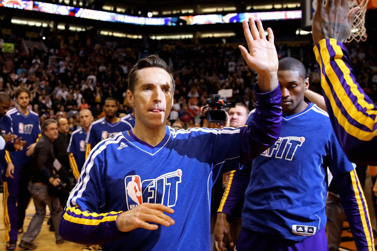 Steve Nash has a situation off the court ...