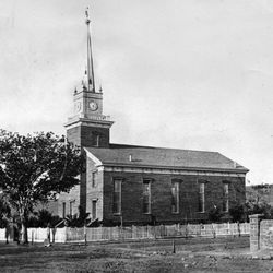 The St. George Tabernacle after its completion in 1877.