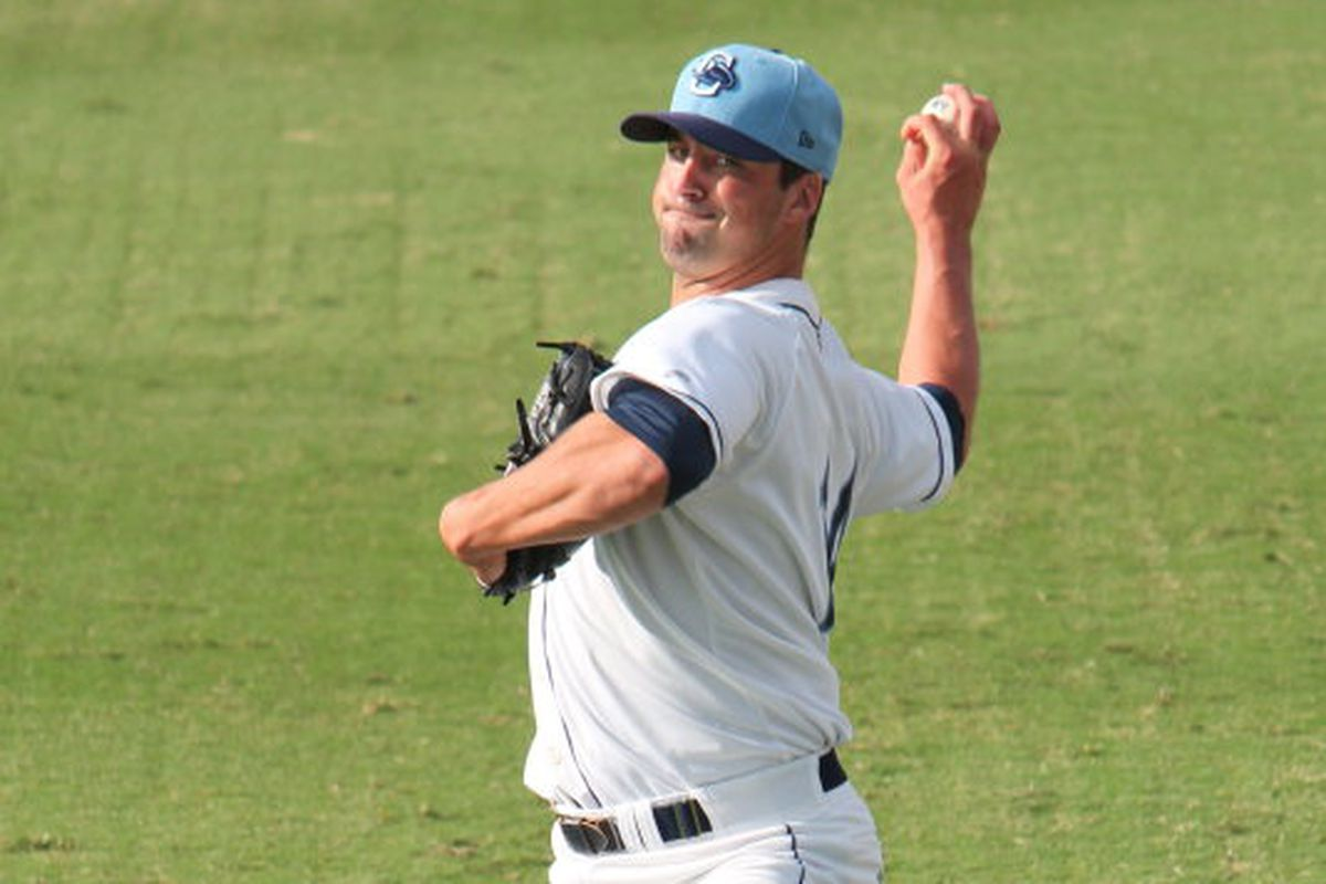 The Biscuits wasted no time getting Taylor Guerrieri into the rotation