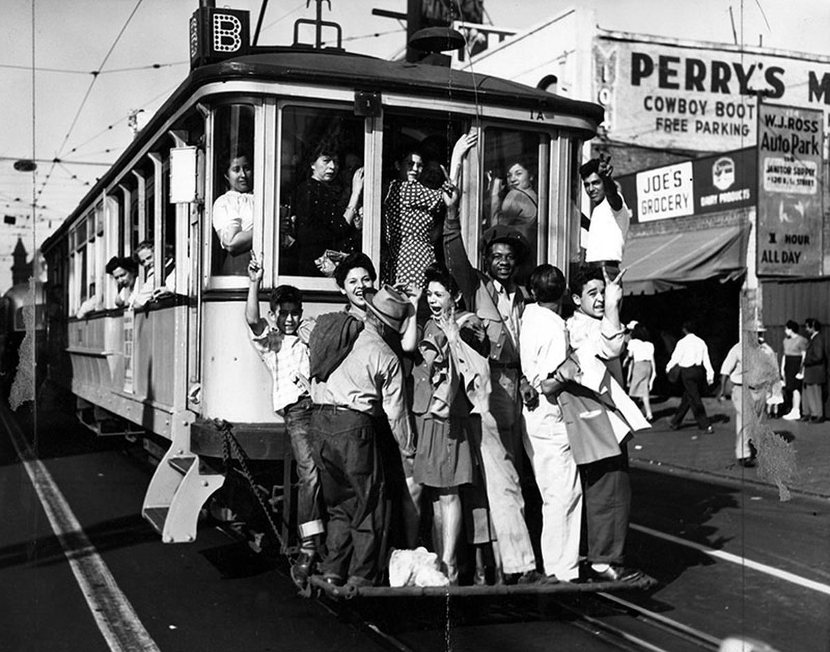 men s haircut los angeles the los angeles streetcar conspiracy and the end of la s 1945 | street car 1945
