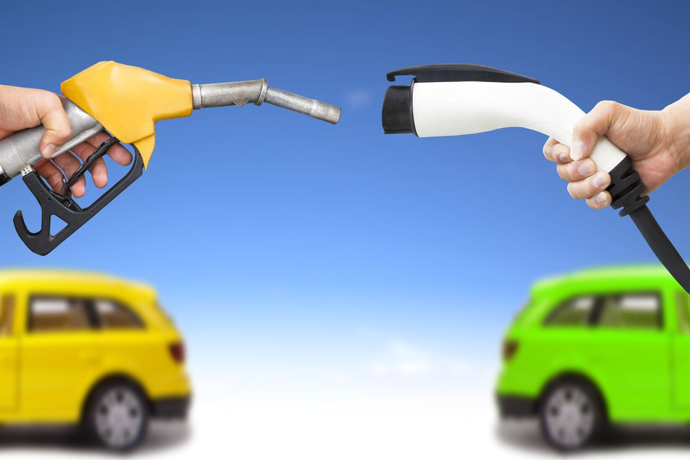 gas v. electric cars