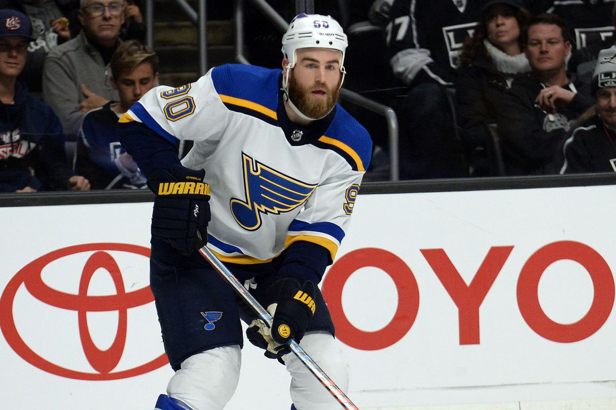 c5ba4ed2a Ryan O Reilly believes that the Blues can make the playoffs. - St. Louis  Game Time
