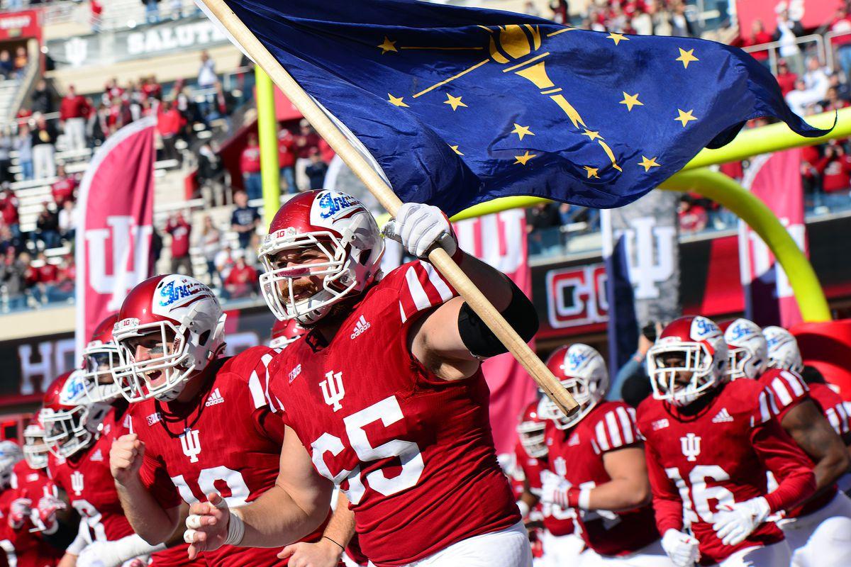NCAA FOOTBALL: NOV 12 Penn State at Indiana