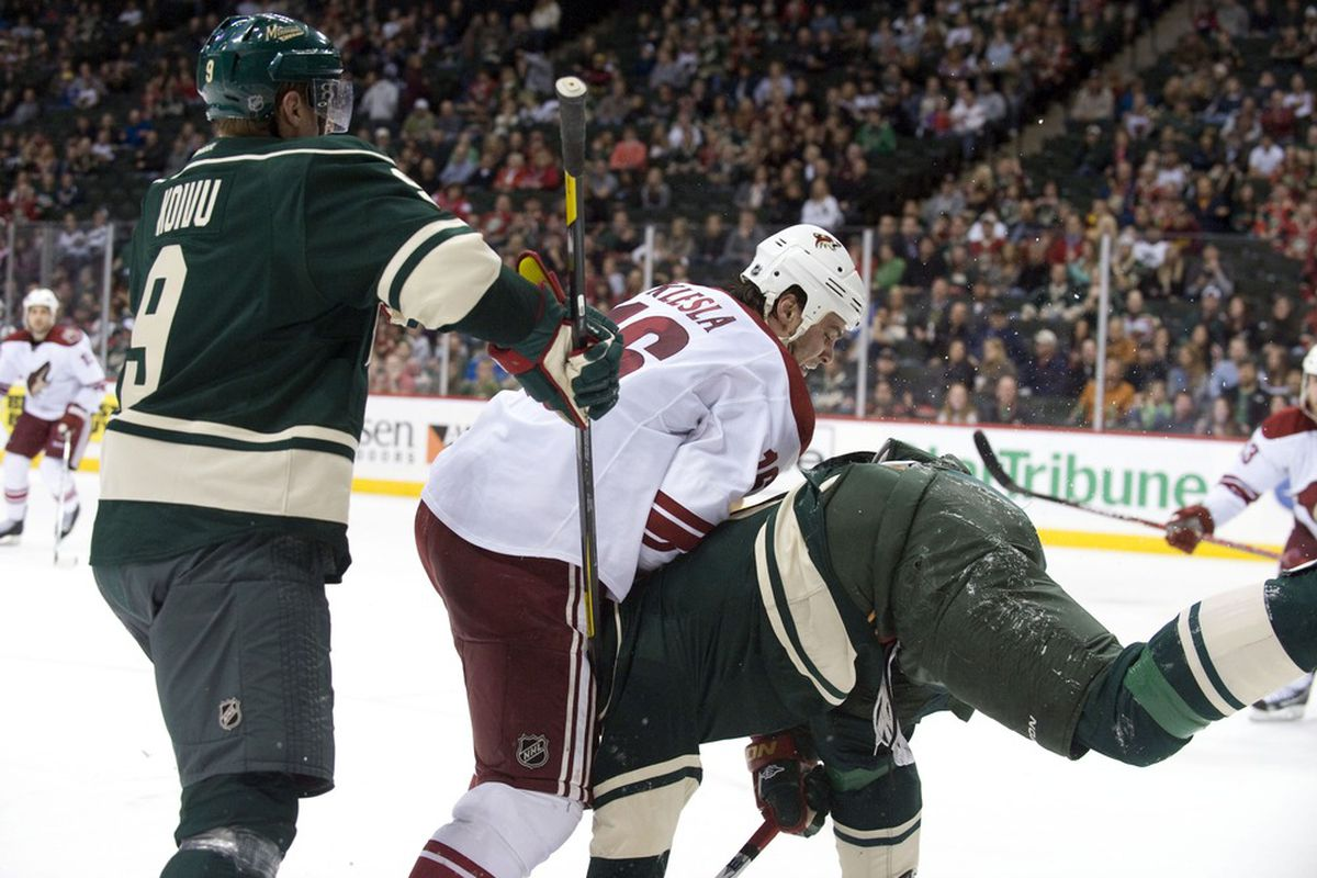 Guessing dropping Dany Heatley in the waning seconds of the season will be forgotten next year, right? Right.