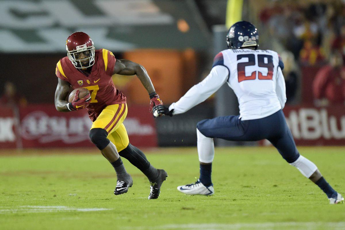 NCAA Football:  Arizona at Southern California