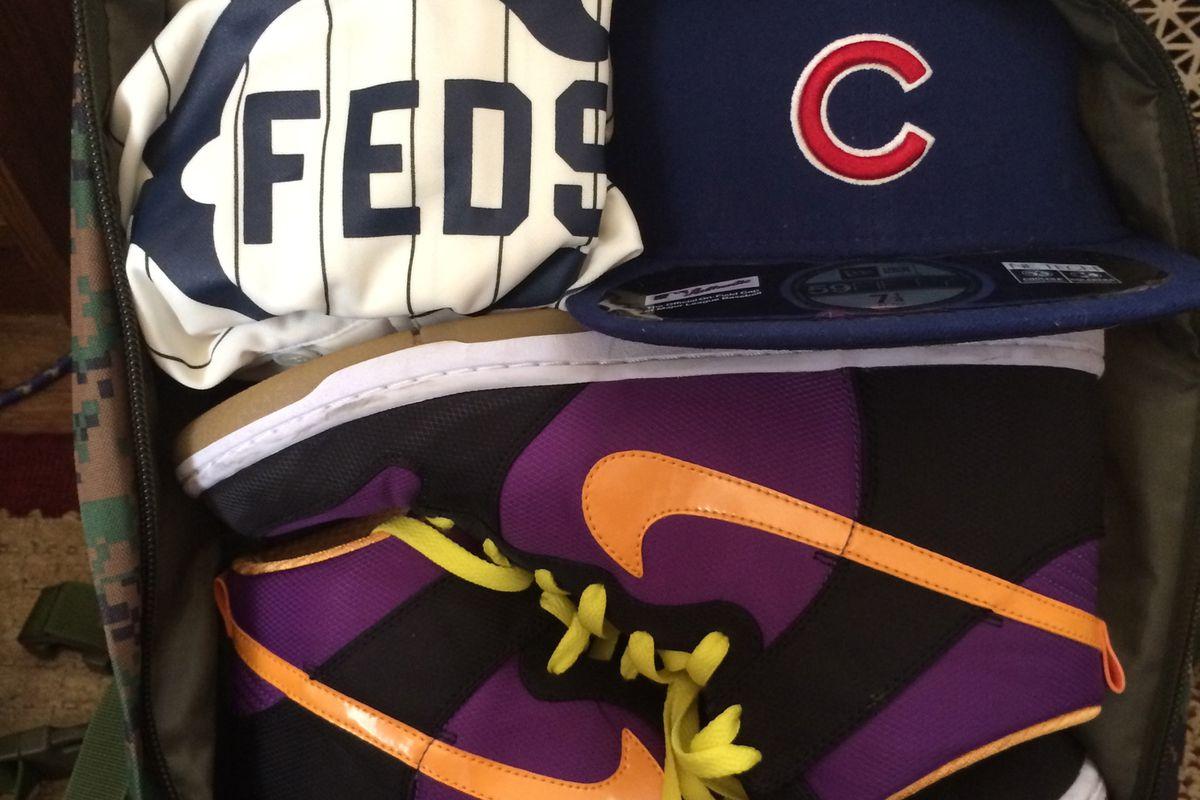 Cubs Fan Go Bag