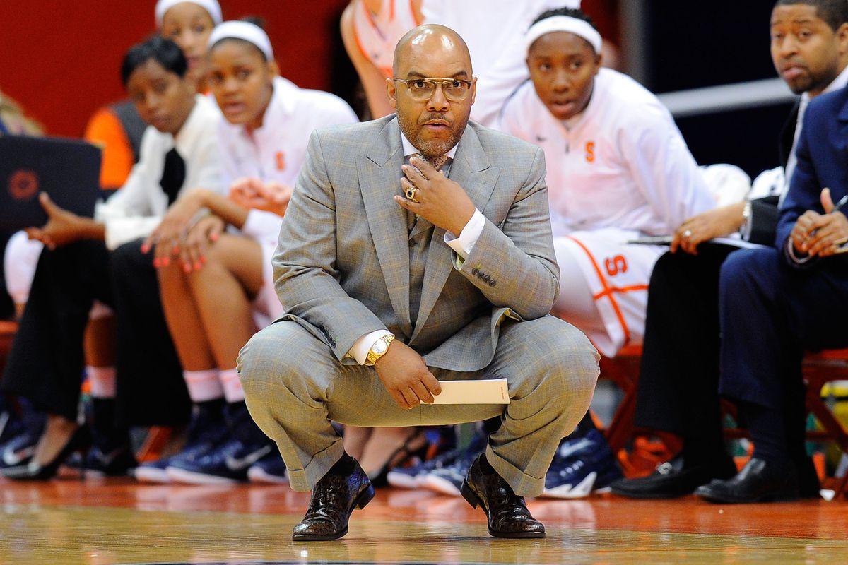Syracuse Women S Basketball Assistant Coach Kelley Gibson