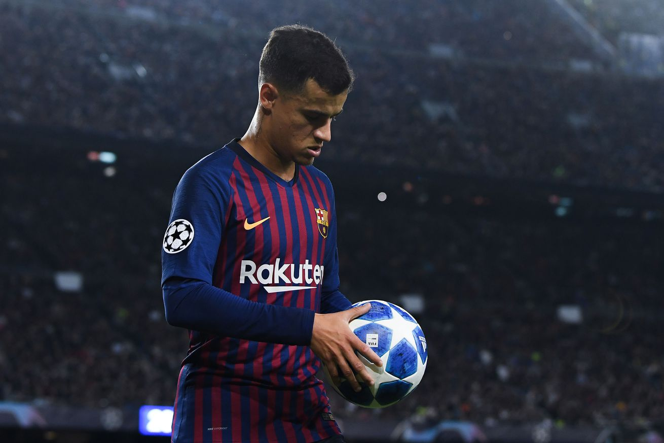 Barcelona need more from Coutinho