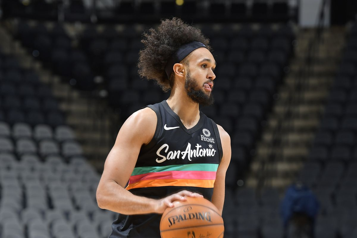 Report: Derrick White is out with a fractured toe - Pounding The Rock
