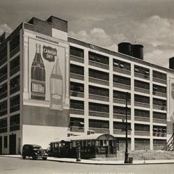 """Diner, 55th street and 12th ave, Byron Company, 1940, From the collections of the Museum of the City of New York [<a href=""""http://collections.mcny.org/C.aspx?VP3=SearchResult_VPage&VBID=24UP1GY7J2ZX&SMLS=1"""">link</a>]"""
