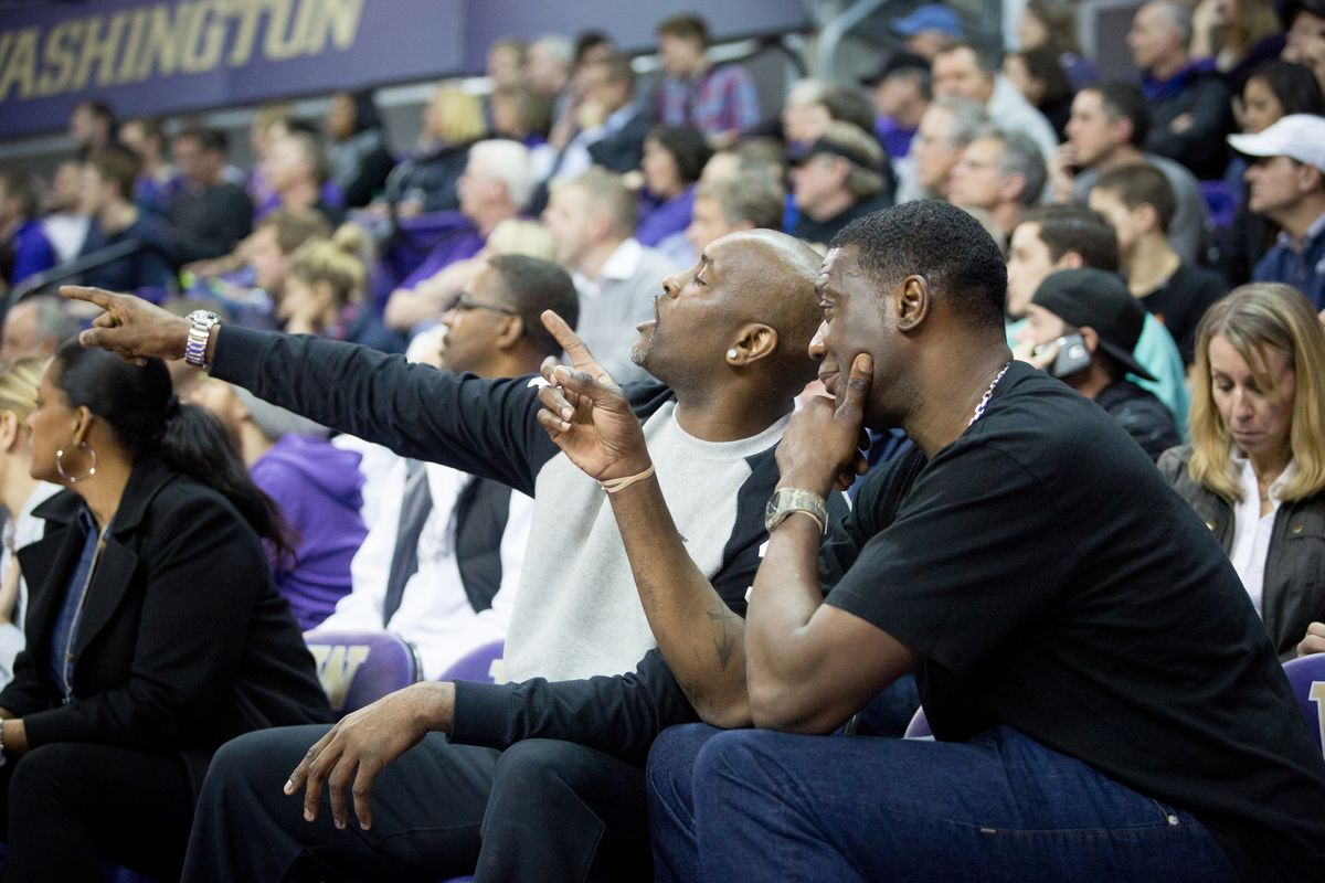The Reign Man and The Glove reunited Thursday at Hec Ed.