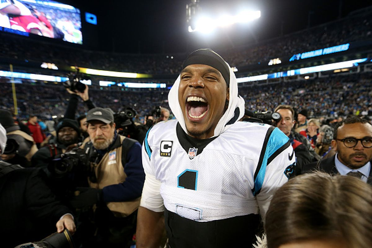 32d37c882964 Cam Newton of the Carolina Panthers. Streeter Lecka via Getty Images