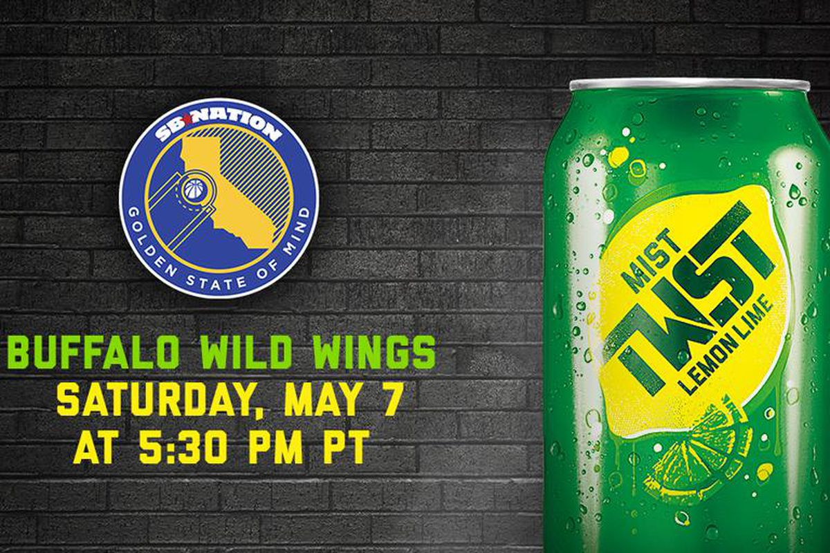 Come join us at our watch party in San Ramon tonight at Buffalo Wild Wings in San Ramon.
