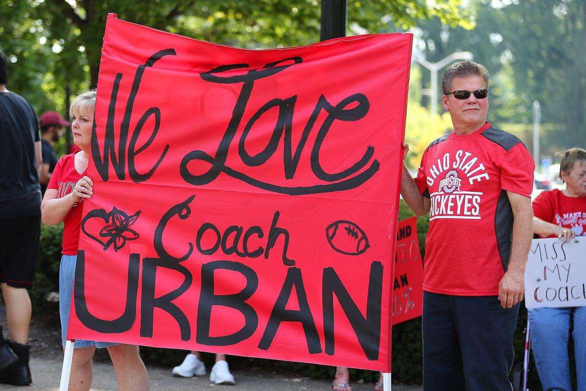 NCAA Football: Ohio State-Save Urban Meyer Rally