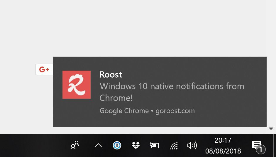 Chrome now supports Windows 10's notifications - The Verge