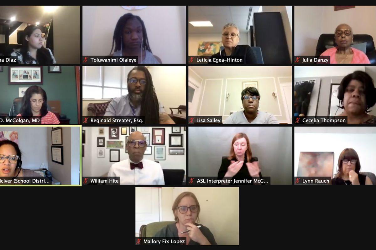 Members of Philadelphia's Board of Education