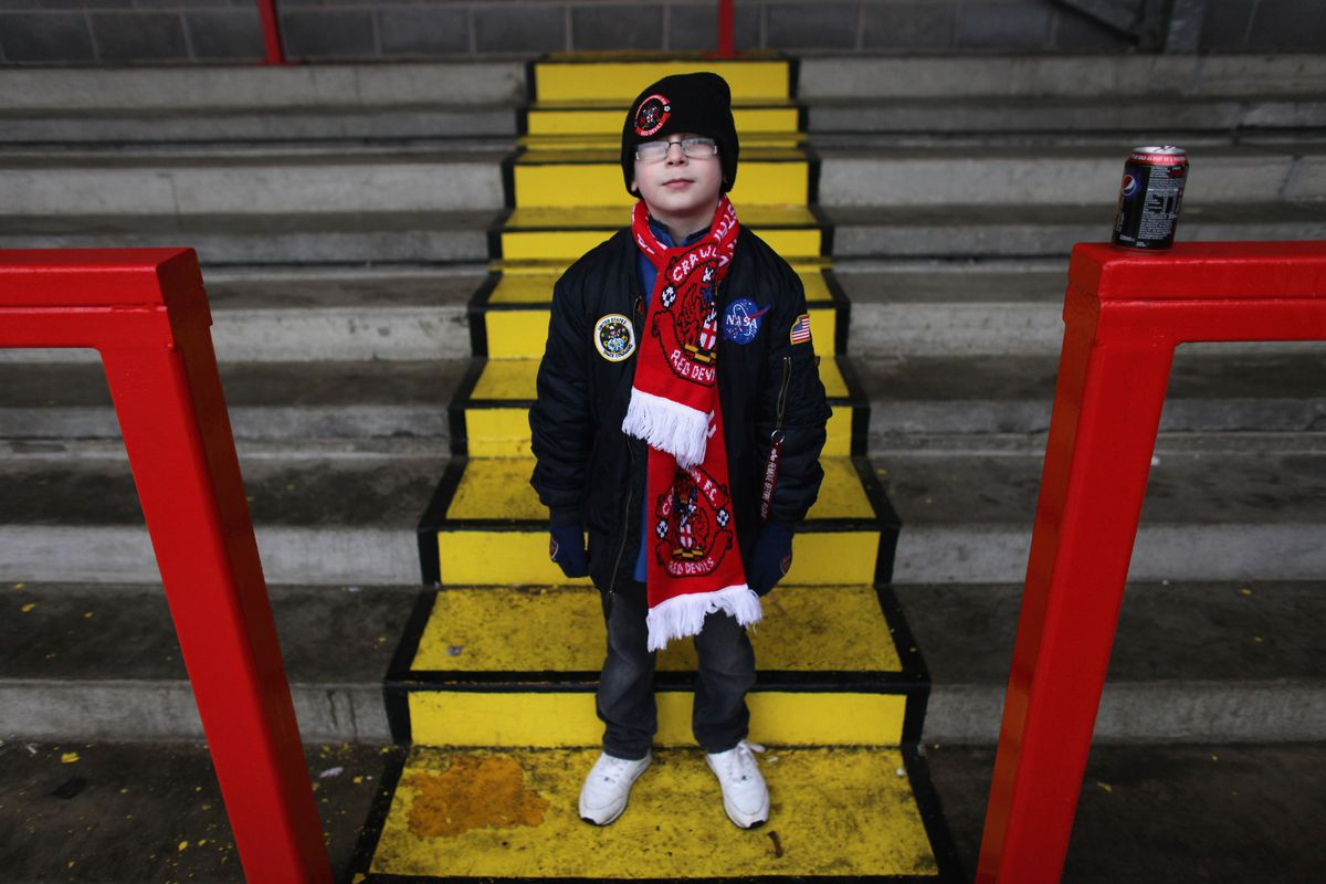 Fans Enjoy Their Big Day As Crawley Town FC Take On Manchester United In The FA Cup