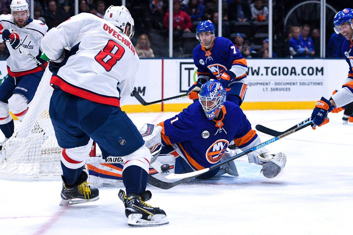 NHL: Washington Capitals at New York Islanders