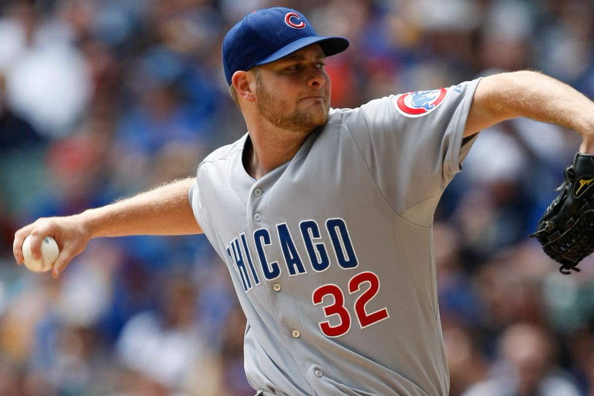 Chris Volstad was solid tonight as he tries to pitch his way back to the majors. Did you think I was going to use another Rizzo photo? (Photo by Scott Boehm/Getty Images)