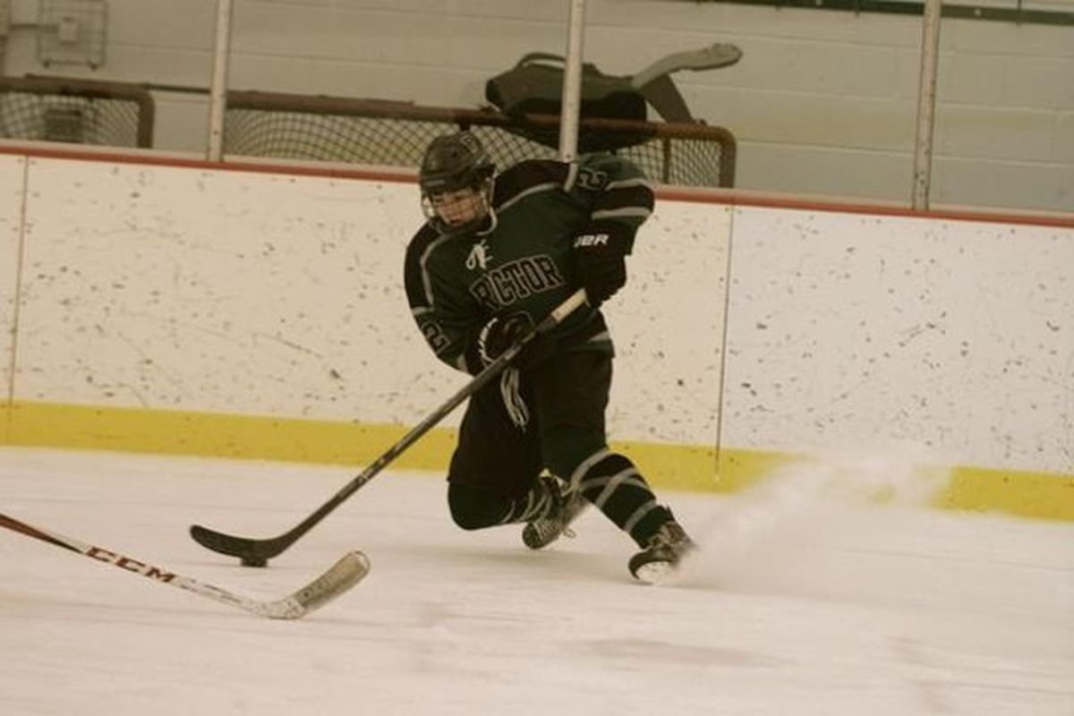 Proctor Academy defenseman Reilly Walsh was the No. 3 rated defenseman at Select 16s.