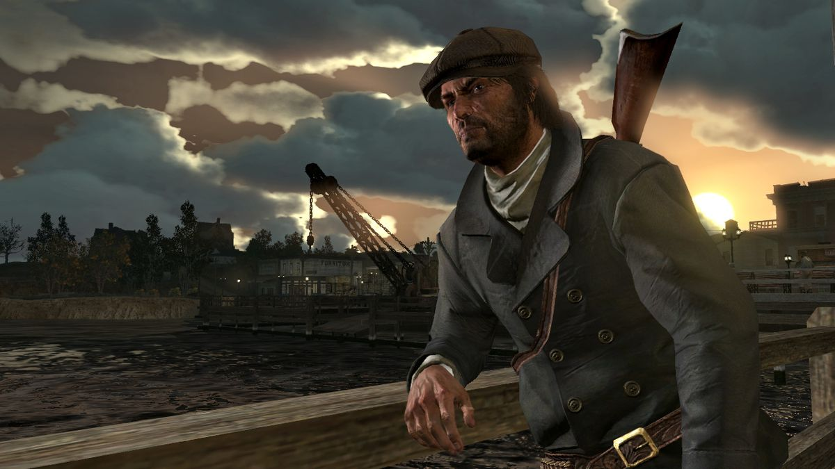Red Dead Redemption - John Marston in 'Savvy Merchant' outfit