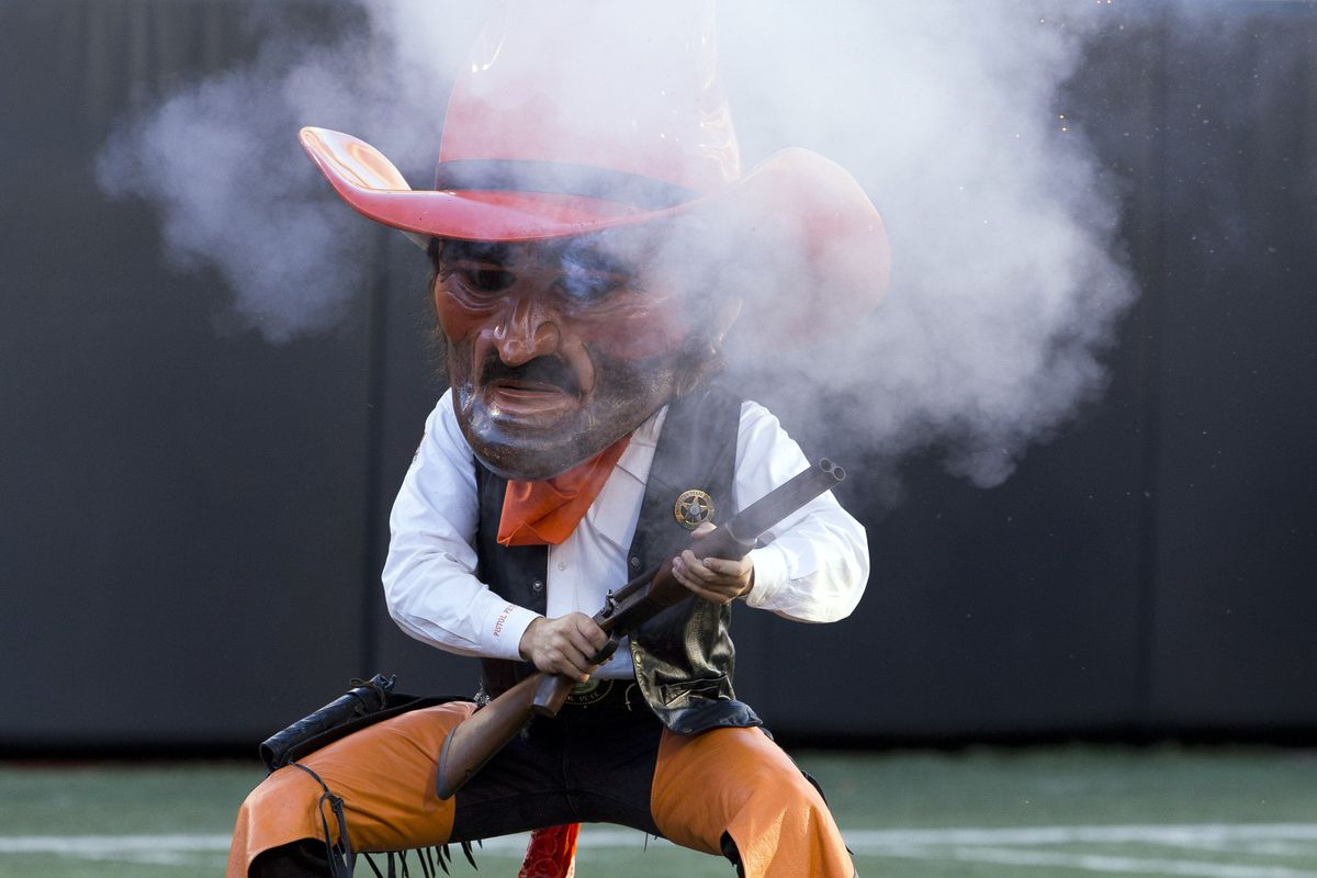 Oklahoma State Suing New Mexico State Over Use Of Pistol Pete Logo