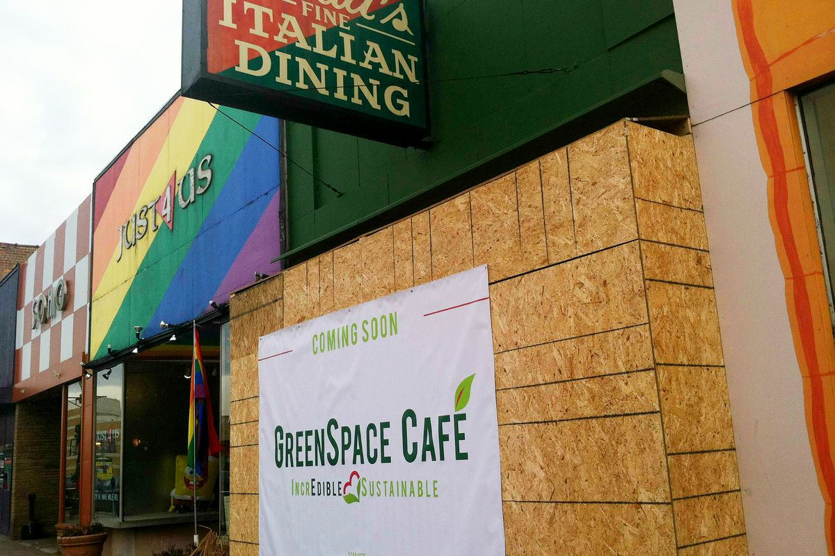GreenSpace Cafe will fill the vacancies left by Maria's Front Room and Just 4 Us on Nine Mile Road.