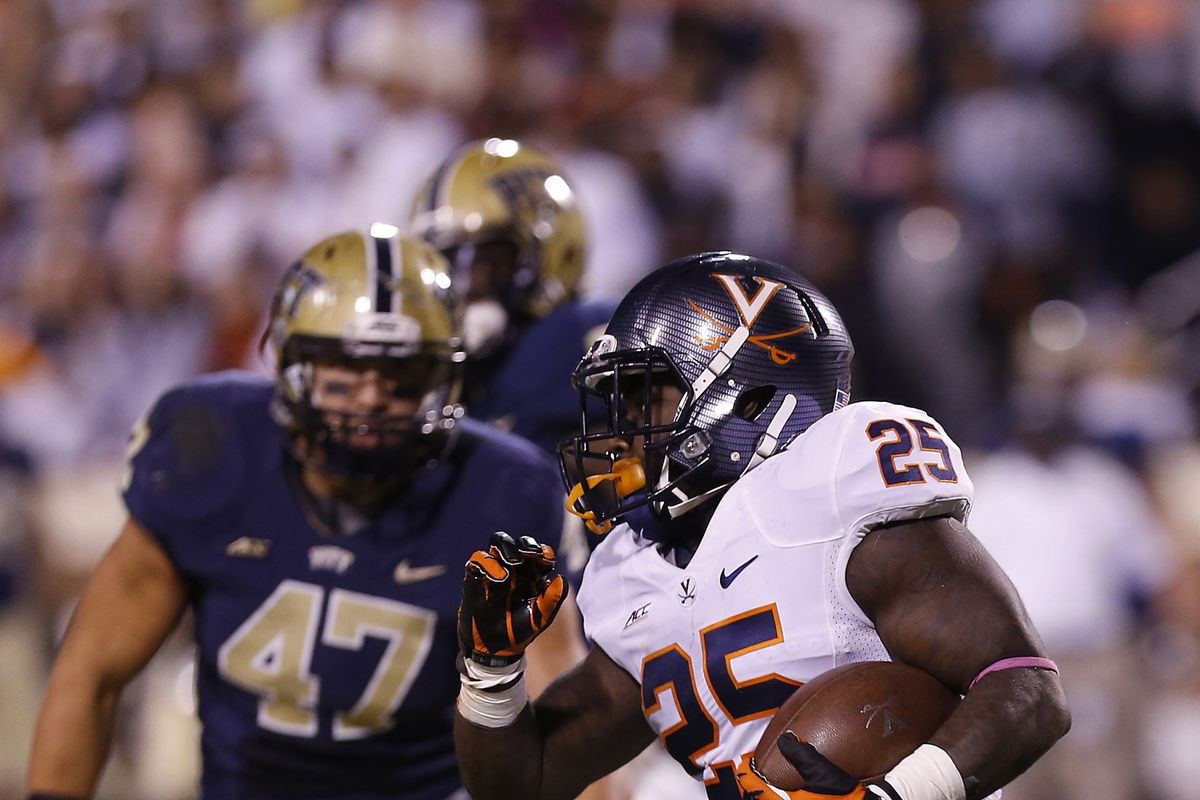 Kevin Parks is looking for a repeat performance of his game against Pitt.