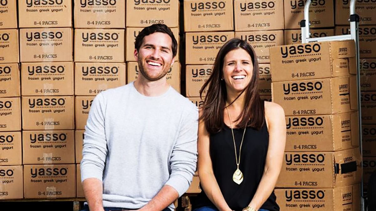 Meet the people who came up with Yasso frozen Greek yogurt bars