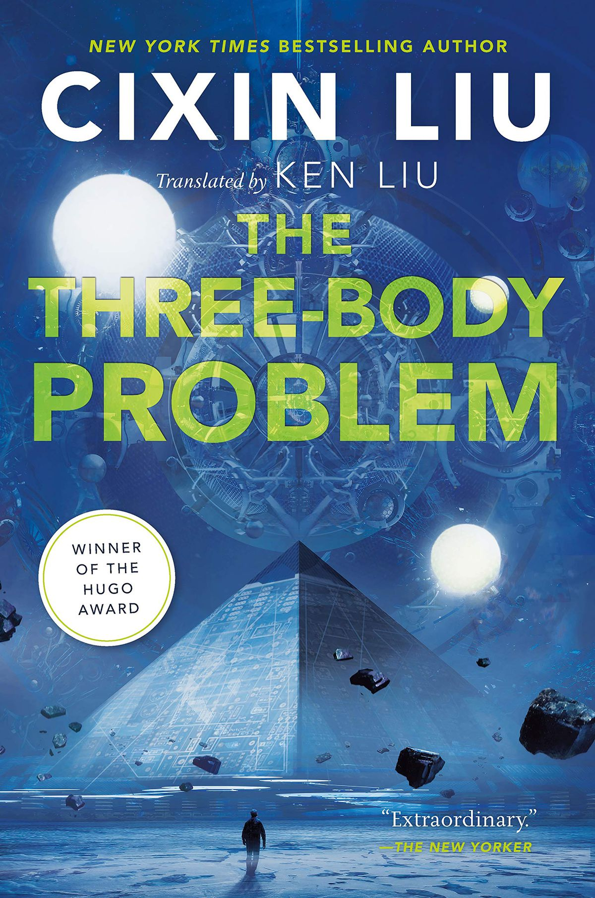 The Three-Body Problem by Cixin Liu cover