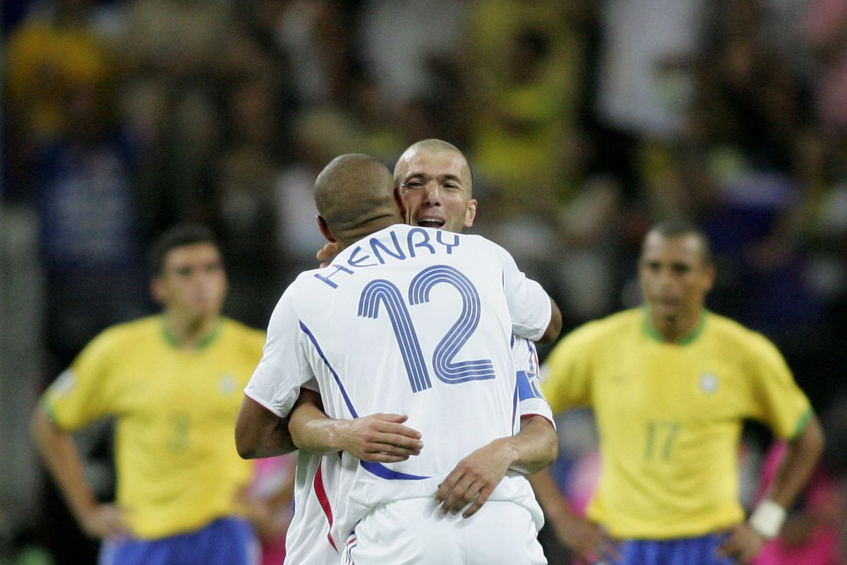 Quarter-final Brazil v France - World Cup 2006