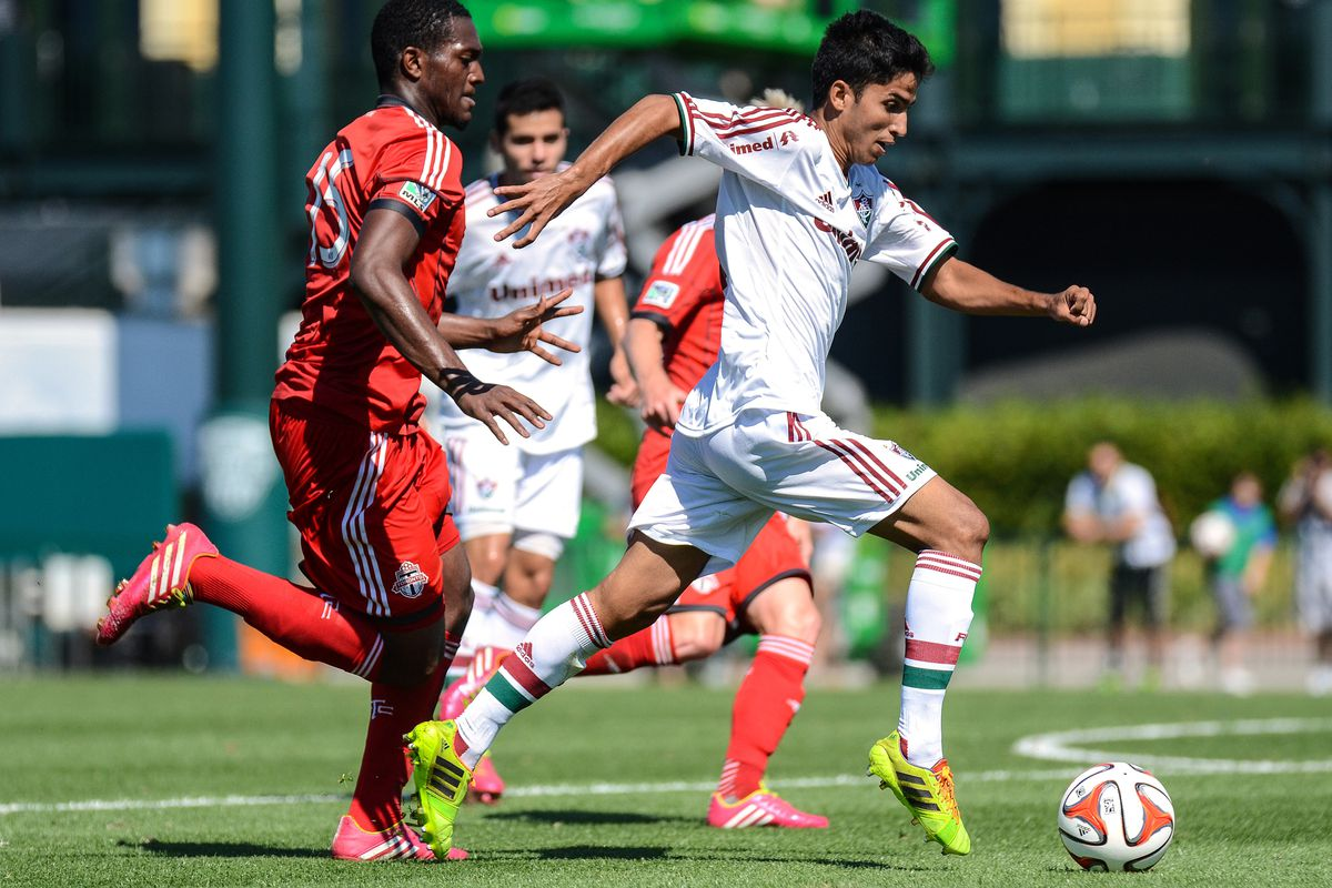 Fluminense FC running away with the game