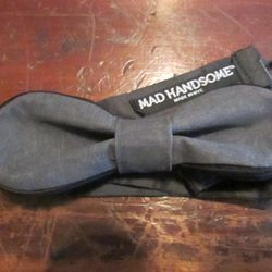 While you're giving thanks, you can feel proud wearing this made-in-NYC bow tie by Mad Handsome ($70). Shown here in gray, there are other colors and styles available, including a black bow tie with metallic blue pattern. Buy the bow tie at Headhouse Dist