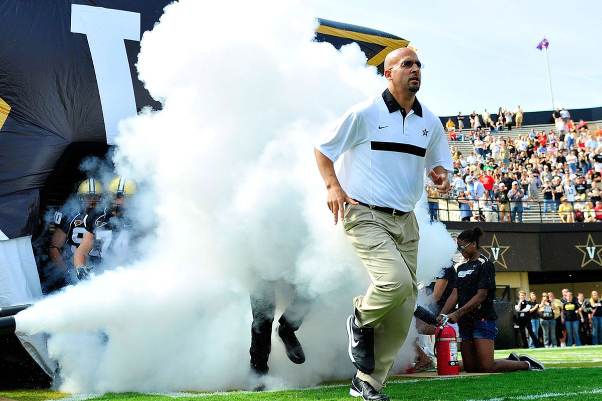 Emerging from the fog to save another embattled, big-conference program?