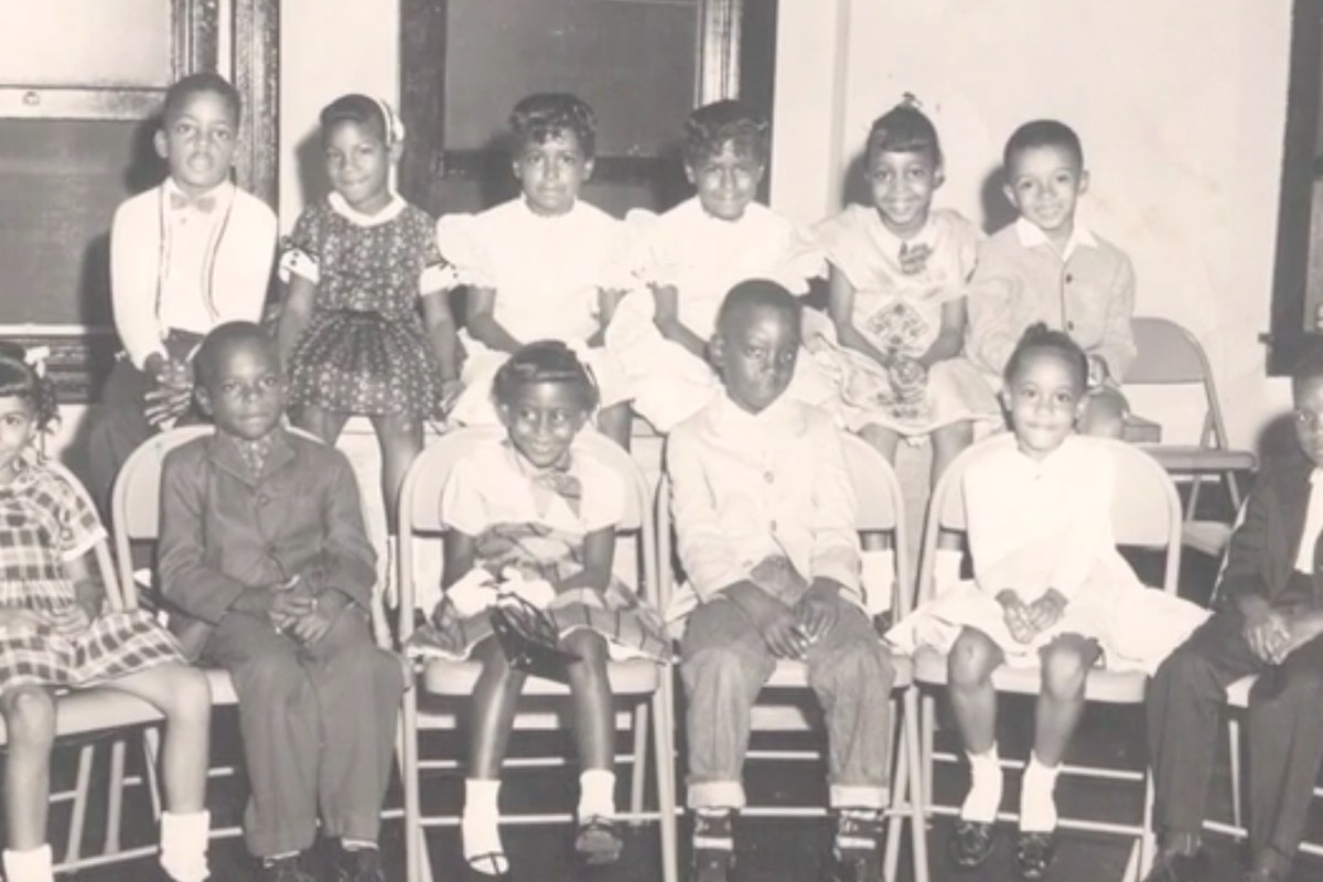 """Members of the """"Memphis 13,"""" the 13 first-grade students who helped pioneer integration of Memphis City Schools in 1961"""