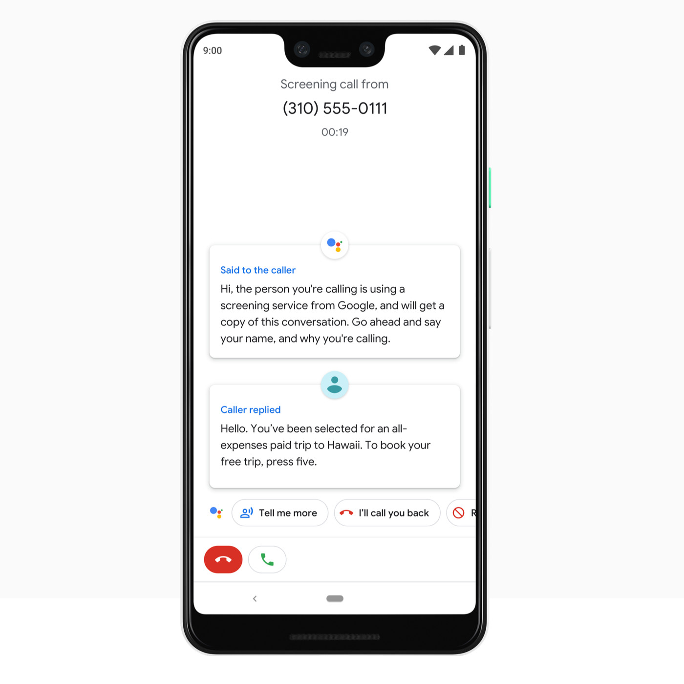 Google Assistant will screen spam calls on the Pixel 3 - The Verge