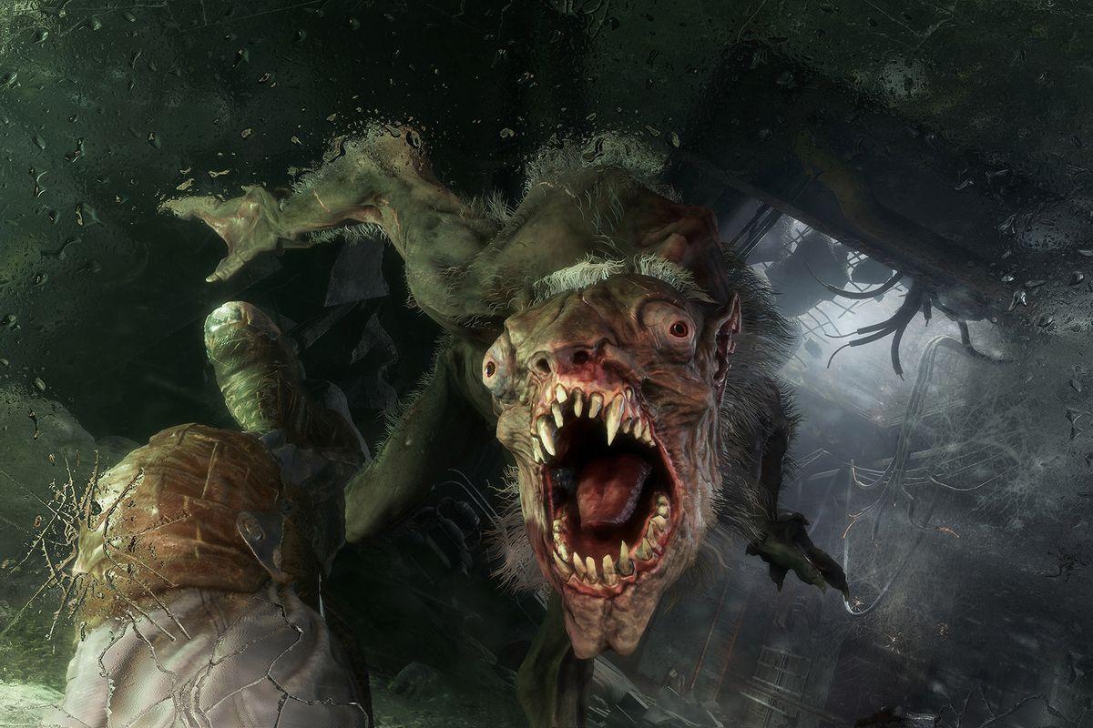 A monster in Metro Exodus