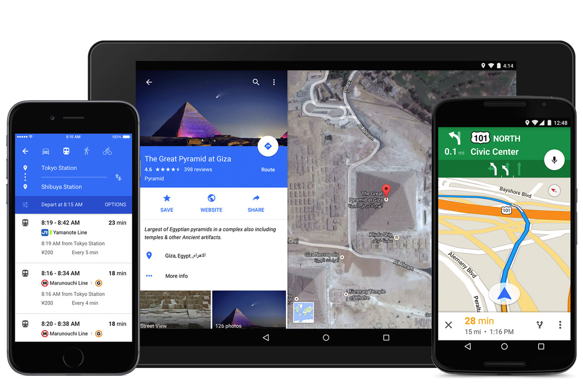 Google Maps is getting a colorful redesign for iOS and Android - The on