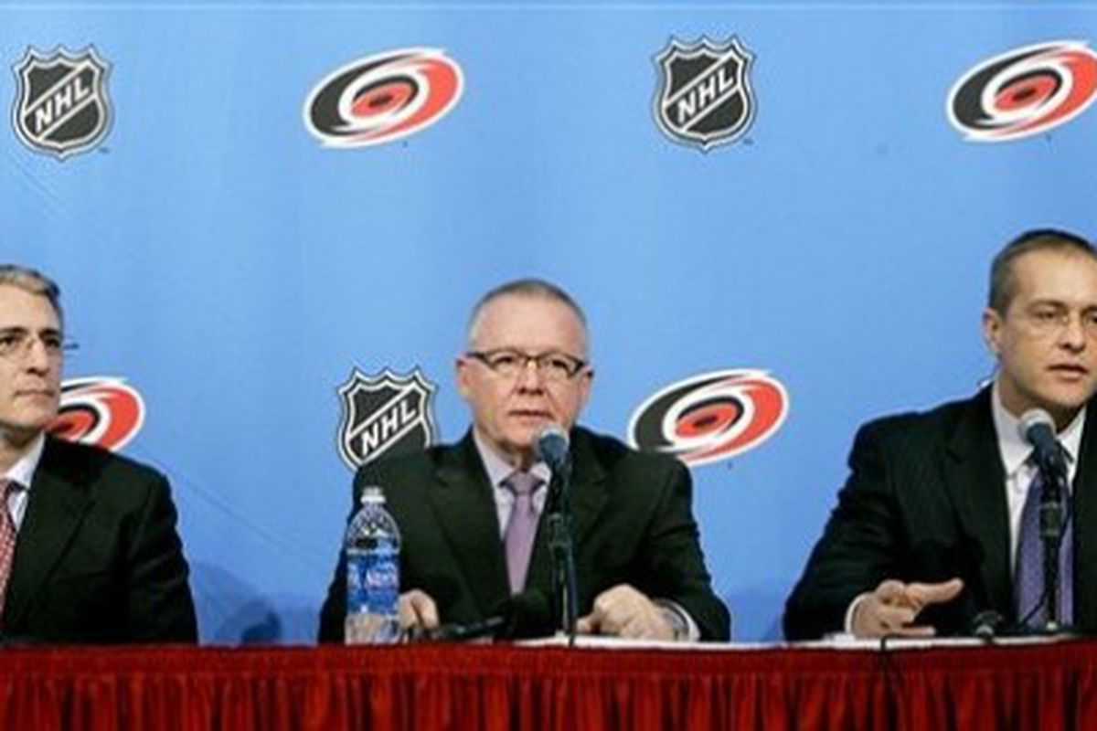 Jim Rutherford surrounds himself with people that he trusts.  So far, the philosophy has worked well for him.