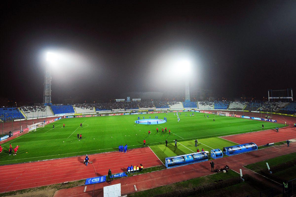 Romanian Liga I: FC Universitatea Craiova v FC CFR 1907 Cluj